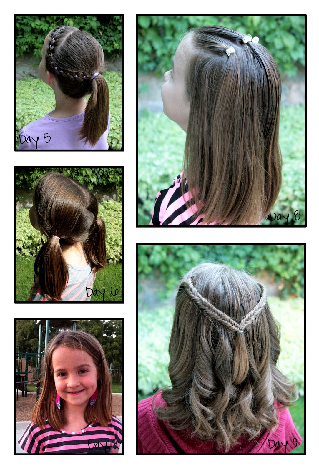 Awe Inspiring 1000 Images About Hair Styles On Pinterest 10 Years Lace Braid Hairstyle Inspiration Daily Dogsangcom