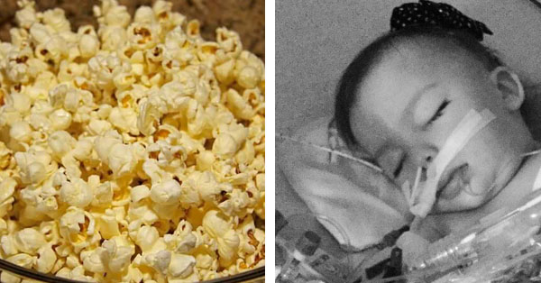 3-year-old toddler dies after choking popcorn kernel