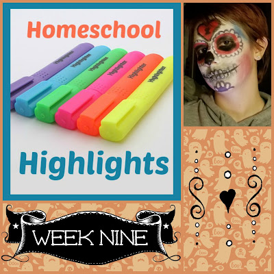Homeschool Highlights - Week Nine on Homeschool Coffee Break @ kympossibleblog.blogspot.com