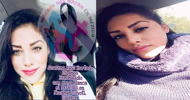 Azucena tenia 20 años y fue asesinada en su propia casa