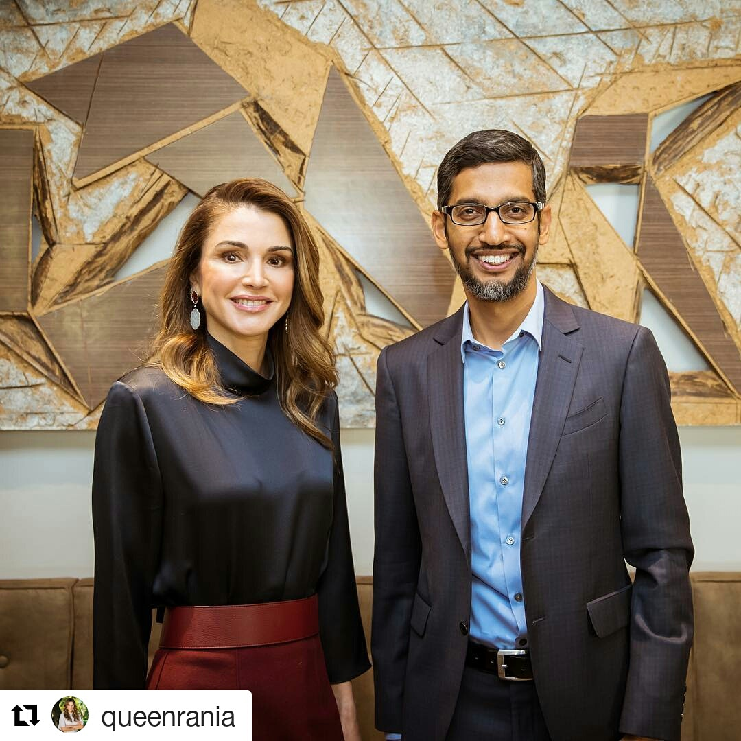 Queen Ranias Closet Cardinal Formal Slim Fit Office Pants Abu 30 The Event Hosted Was By Google Which Attended His Majesty King Abdullah Ii Ceo Sundar Pichai Also Present