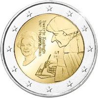 hollanti 2 euro kolikko 2011