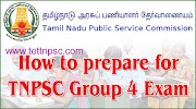 How to Prepare for TNPSC Group 4 Exam