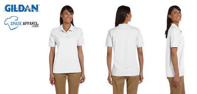 Gildan G380L Ultra Cotton Ladies Pique Polo Shirt