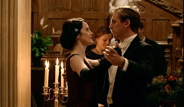 Romantic TV Spotlight: Downton Abbey's Mary and Matthew and a Long Awaited Proposal. Remembering this gorgeous classic romantic moment: Downton Abbey. Text © Rissi JC