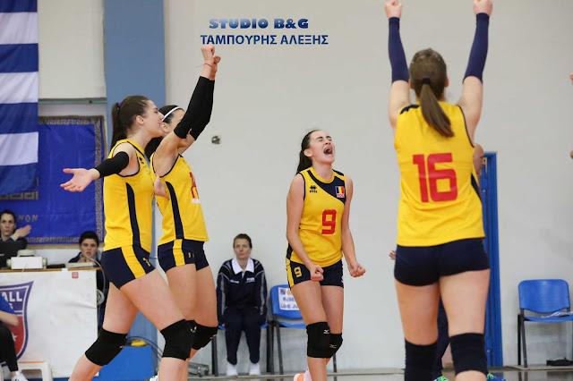 Με νίκη της Ρουμανίας ξεκίνησε το Ευρωπαϊκό Πρωτάθλημα Παγκορασίδων βόλεϊ στο Άργος