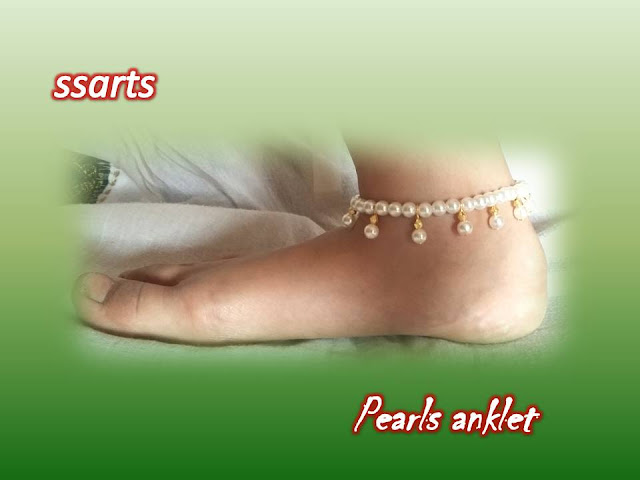 Here is silk thread jewellery,pearl jewellery,beads jewellery,crystal jewellery,paper jewellery,quilling jewellery,terracota jewellery,how to make pearl anklet making at home