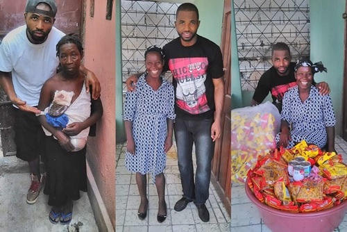 Total Transformation: How a Young Man Rehabilitated and Set Up Business for an Old Beggar (Photos)
