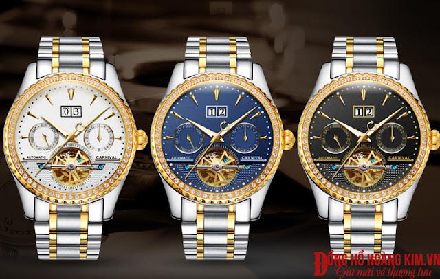 Đồng hồ nam Carnival chính hãng Thụy Sỹ