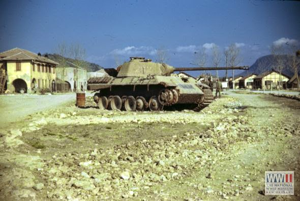 color world war ii in pictures panther tanks best tank of its time