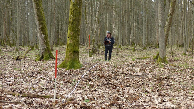 Barrows and outlines of ancient fields discovered in Eastern Poland