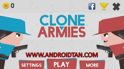 Free Download Clone Armies Mod Apk v2.0.5 Unlimited Money Terbaru 2017 Gratis