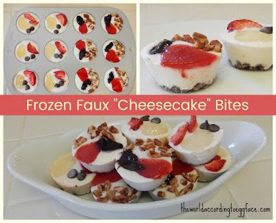 Frozen%2BFaux%2BCheesecake%2BBites%2BRecipe%2BPin Weight Loss Recipes Healthy Snacks: Frozen Faux Cheesecake Bites