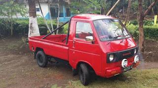 Jual Pickup Jadul Suzuki Truntung Harga 15 Juta Negro