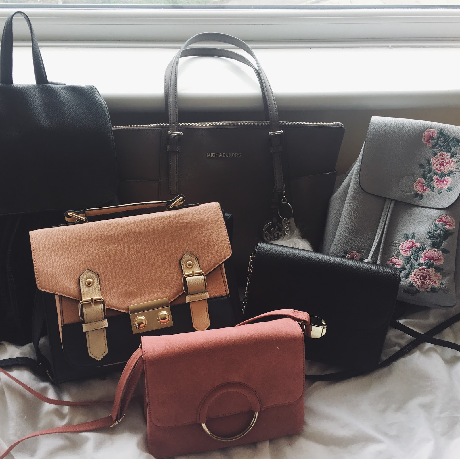 My Work Bag And Little Shoulder Bags If I Don T Want To Carry A Massive Bulky Around With Me Also Pride Joy Michael Kors