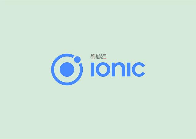 Ionic Framework untuk Pengembangan Aplikasi