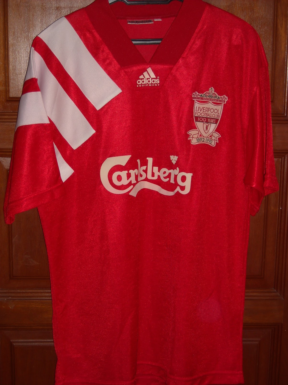 buy popular 850b2 ea264 Jersi Bolasepak - Football Jerseys: Liverpool Home 1992/93 ...