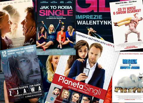 Na co iść do kina na walentynki? Najlepsze filmy na walentynki 2016. Walentynki w kinie