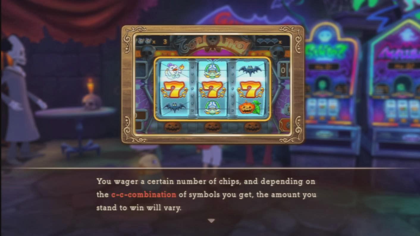 Casino ni no kuni prizes