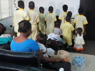 Illegal Orphanage Home Busted In Lagos, Rescues 24 Children