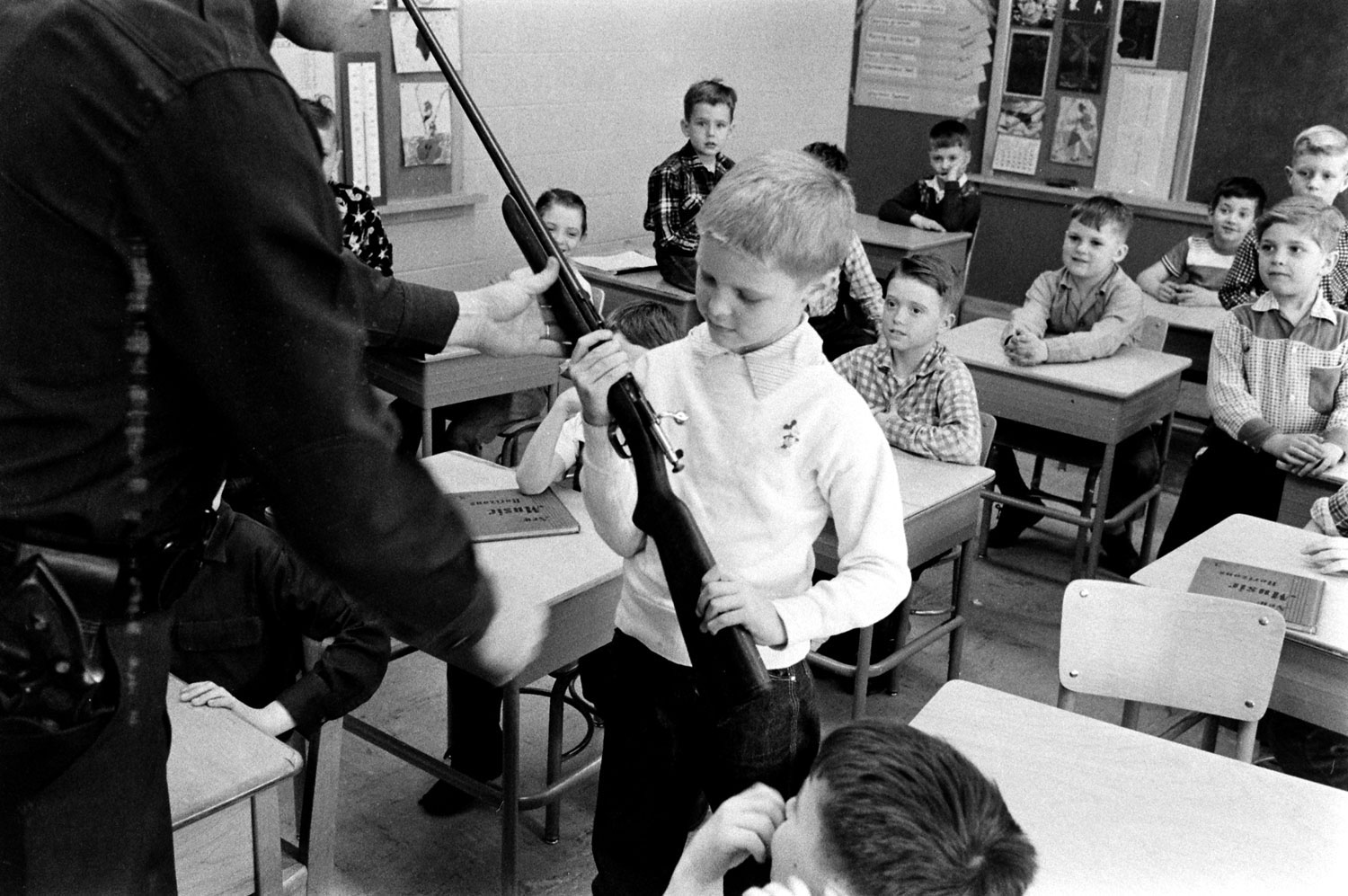 There Was A Time When Kids Were Taught To Respect Firearms