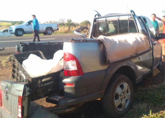 Uma pessoa morre e sete ficam feridos em acidente na Assis Chateaubriand