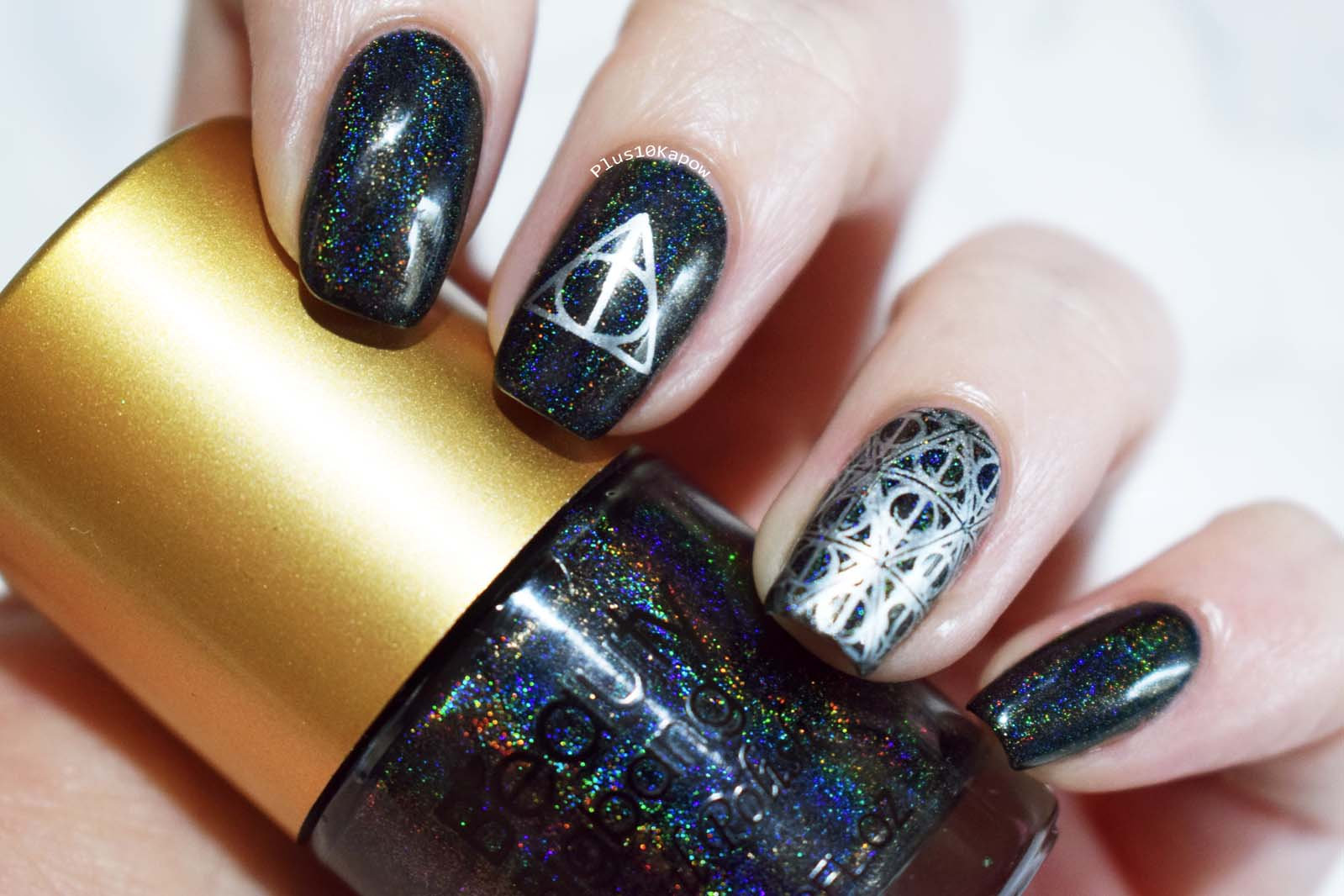 Plus10Kapow: Harry Potter and the Deathly Hallows Nails
