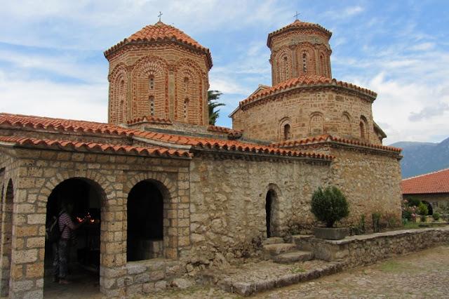 Macedonië, Ohrid,  Sveti Naum