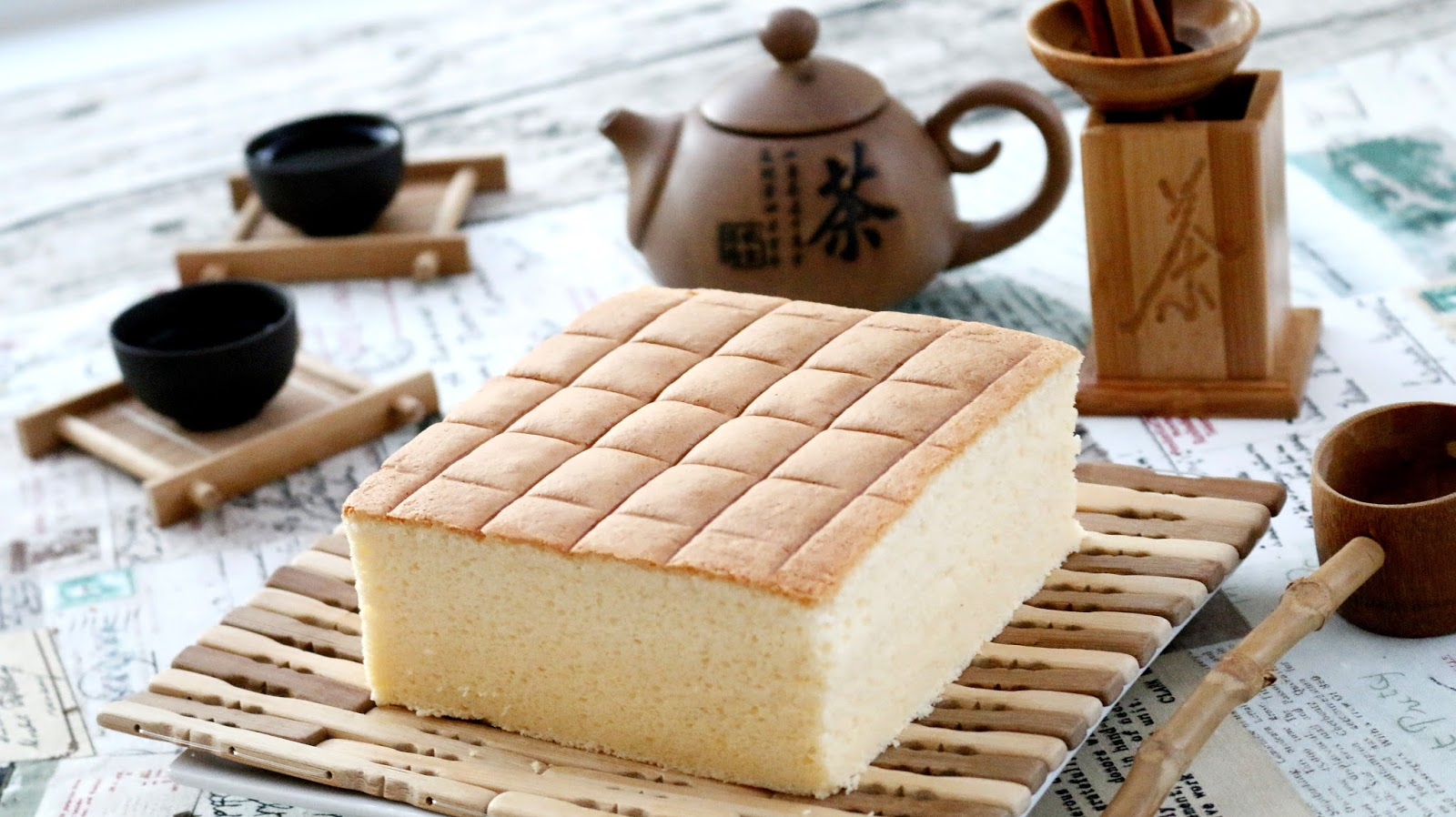 Japanese Sponge Cake Recipe Youtube: Josephine's Recipes : How To Make Cotton Soft Sponge Cake