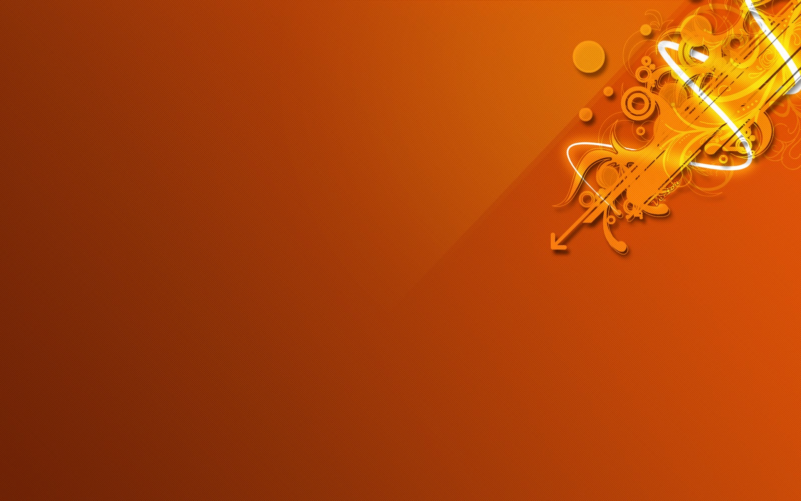 Orange wallpaper full hd
