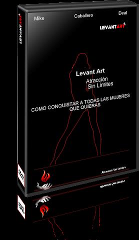 Levant Art Atracción Sin Límites [Conquista la Mujer que Quieras] DVD