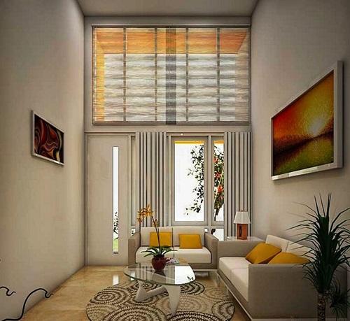 Contoh Desain Ruang Tamu Dengan Ukuran Kecil 3 X