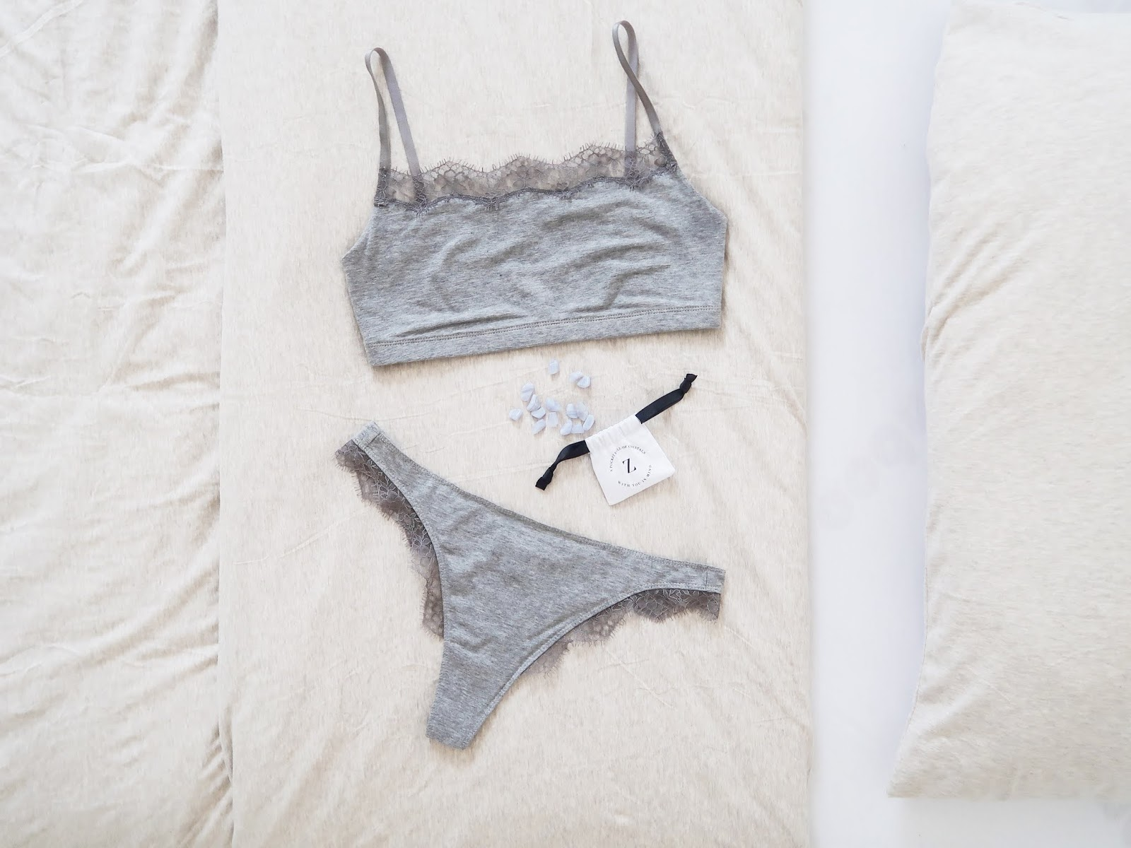Lingerie that reminds you to take care of yourself
