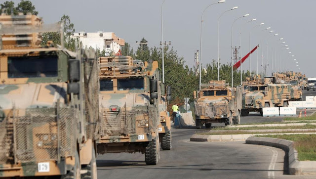 """عملية """"نبع السلام"""" التركية بسوريا"""