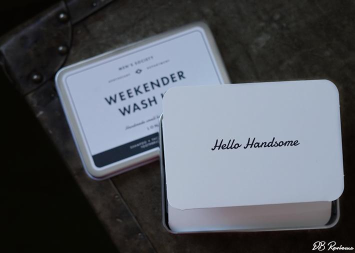 Mens Society Weekender Wash Kit