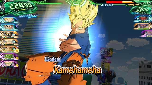 Super Dragon Ball Heroes World Mission PC Full imagenes