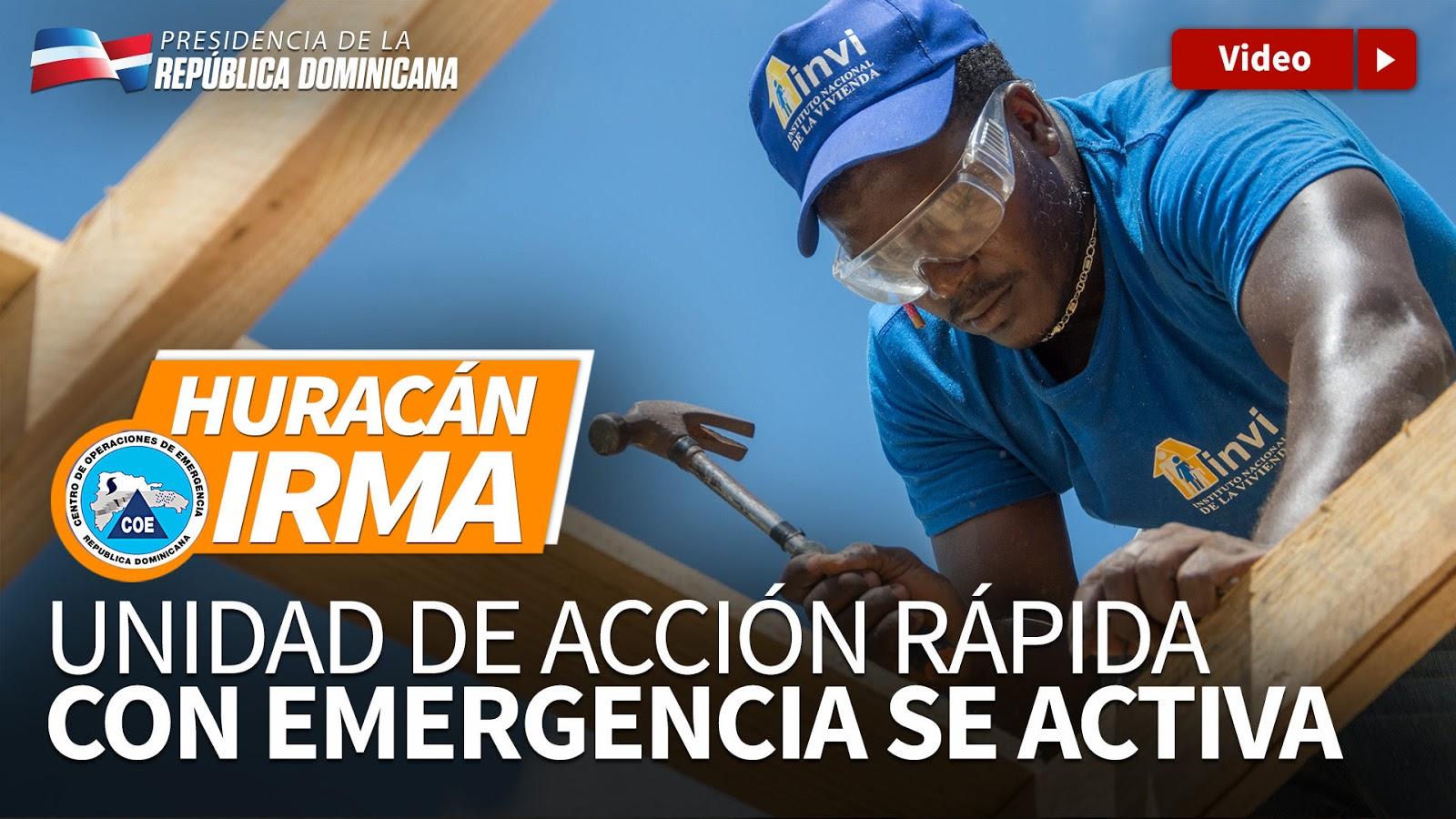 VIDEO: Unidad de acción rápida con emergencia se activa