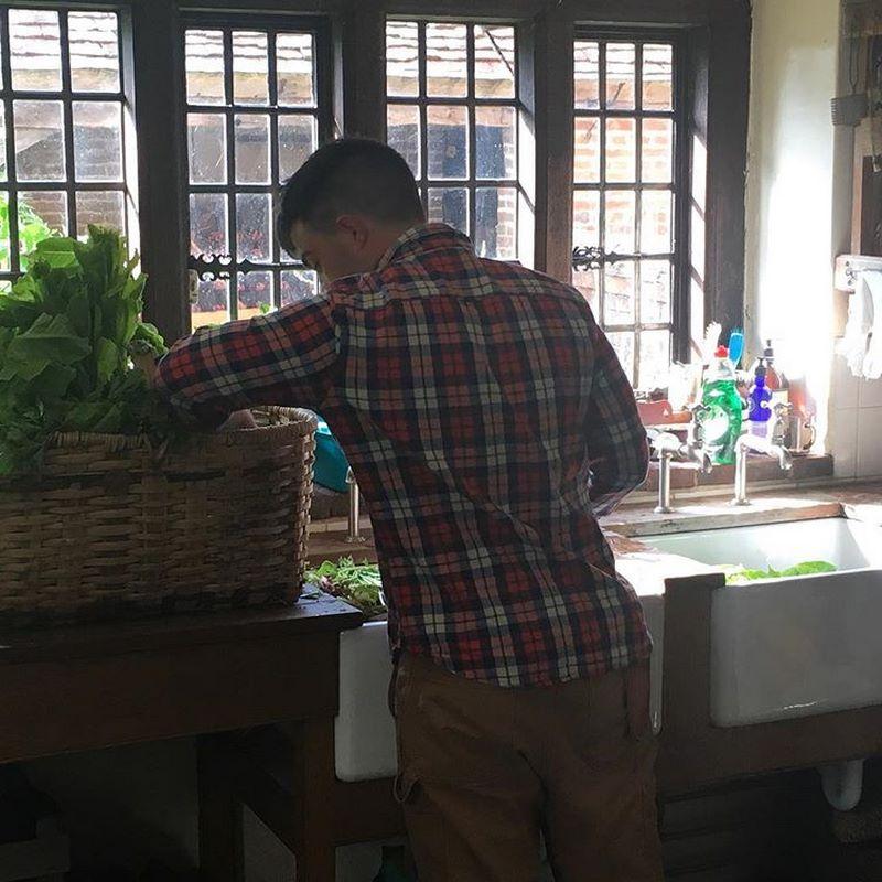Cocina en Great Dixter House and Gardens