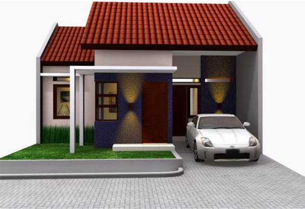 Desain Rumah Sederhana Mempesona