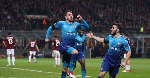 Milan-Arsenal 0-2: compromessa la qualificazione in Europa League