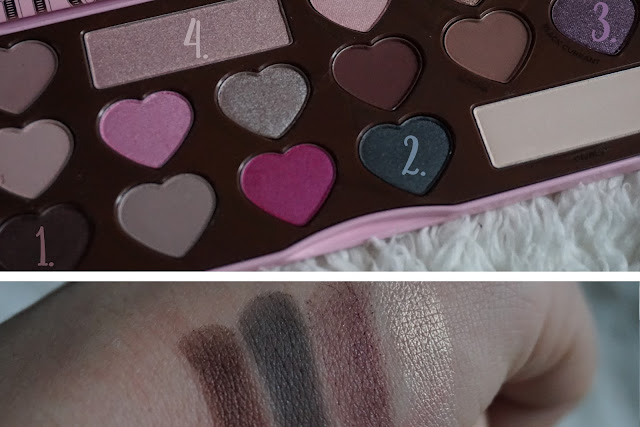 chocolate bon bons revue avis too faced swatches