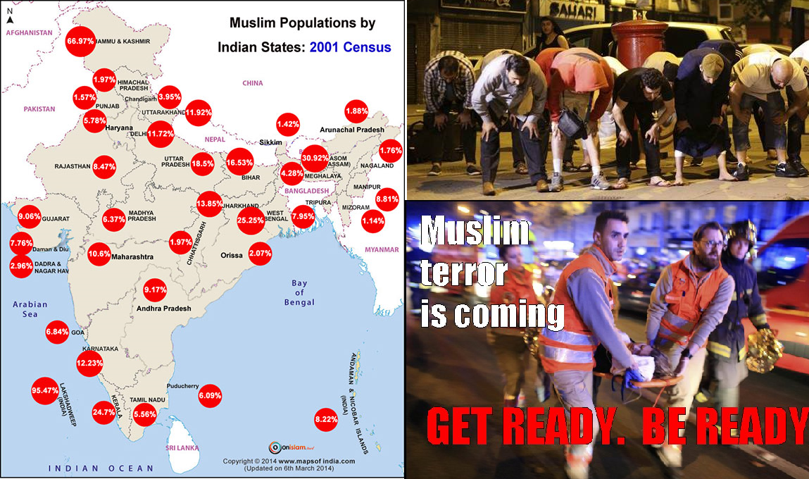 The Danger bells of Muslim Population in Bharat
