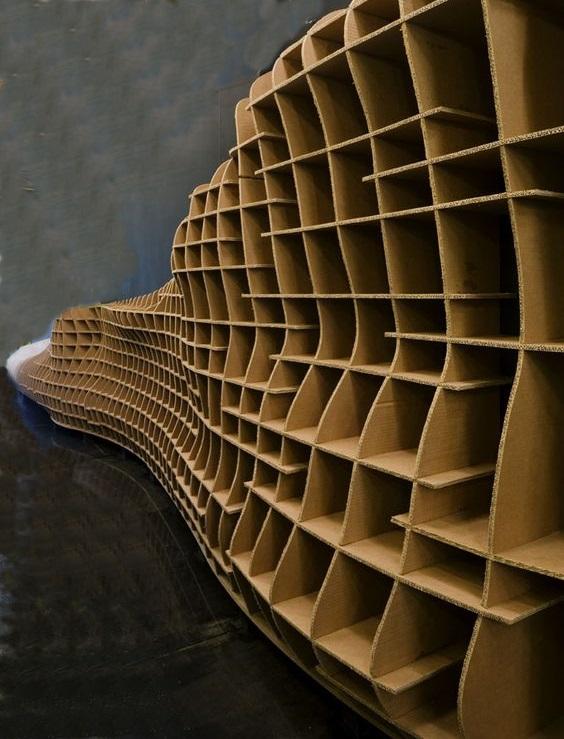meble z kartonu - wzory