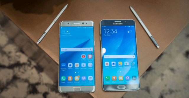 Kelebihan Samsung Galaxy 7 vs Galaxy Note 5