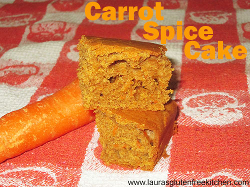 Gluten free Carrot Spice Cake