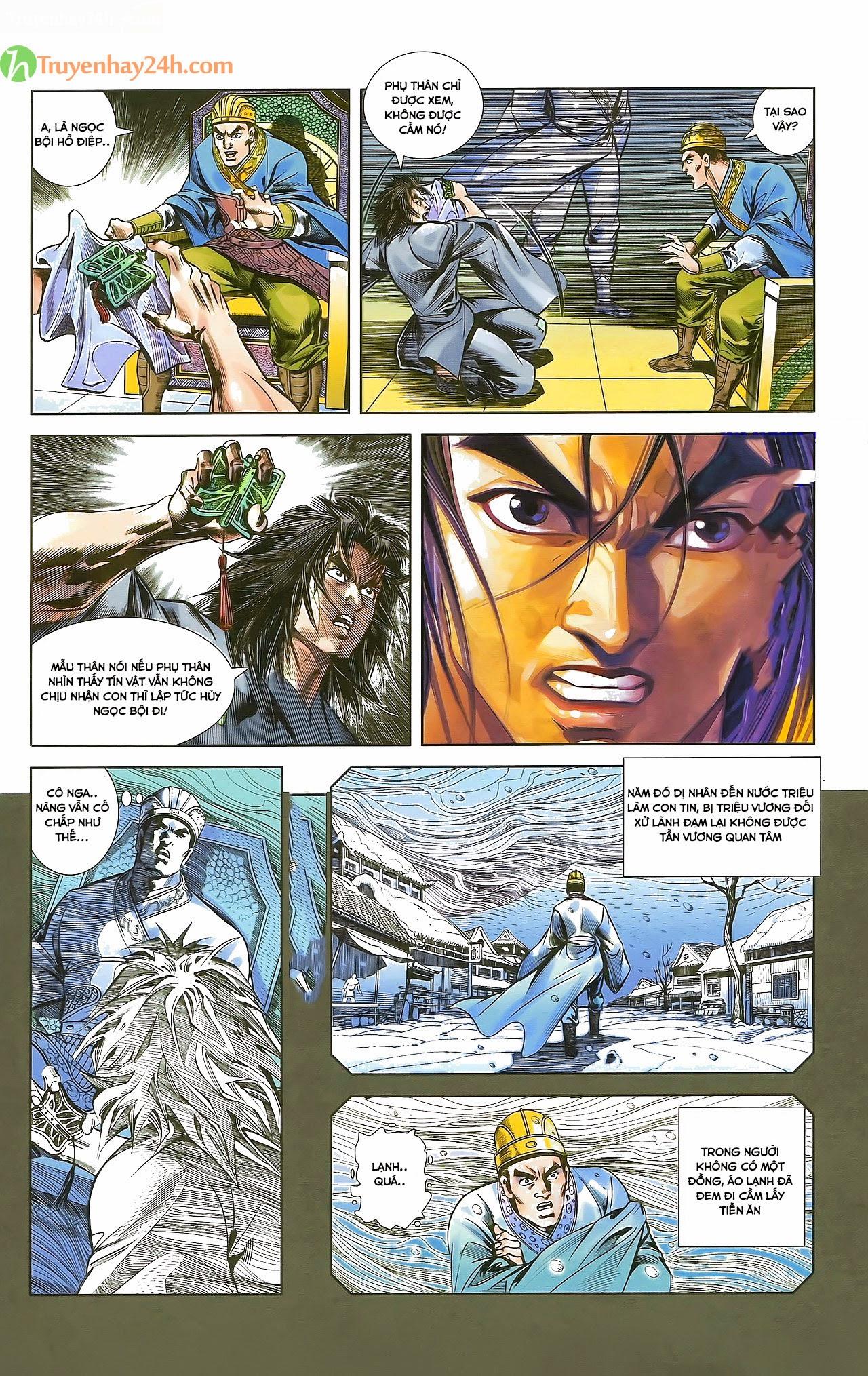 Tần Vương Doanh Chính chapter 29.1 trang 8