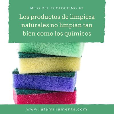 Mito del ecologismo #2: Los productos de limpieza naturales no limpian tan bien como los químicos