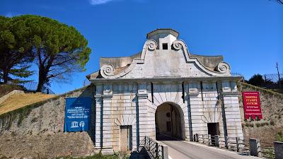 Palmanova: Porta Aquileia.