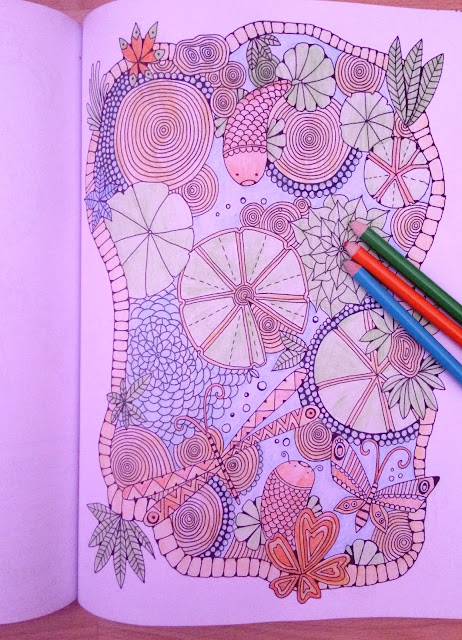 adult colouring magazine