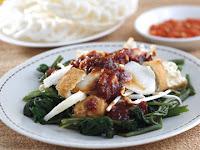 Sayur Rujak Kangkung
